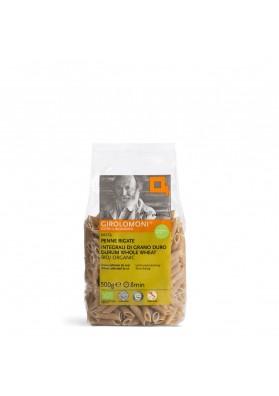 Penne Rigate Girolomoni 500 g - Pasta al grano duro integrale