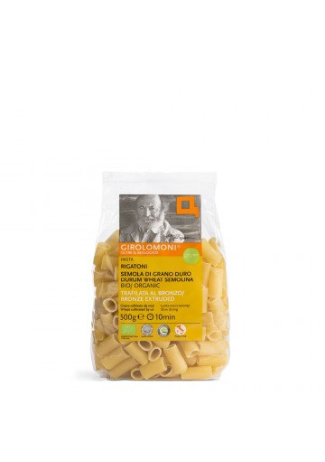 Rigatoni Girolomoni 500 g - Pasta trafilata al bronzo