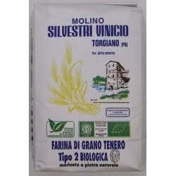 Farina di Grano Tenero Tipo 2  Molino Silvestri 1kg